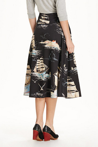 Sailaway Circle Skirt